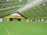 屋内スポーツセンター内