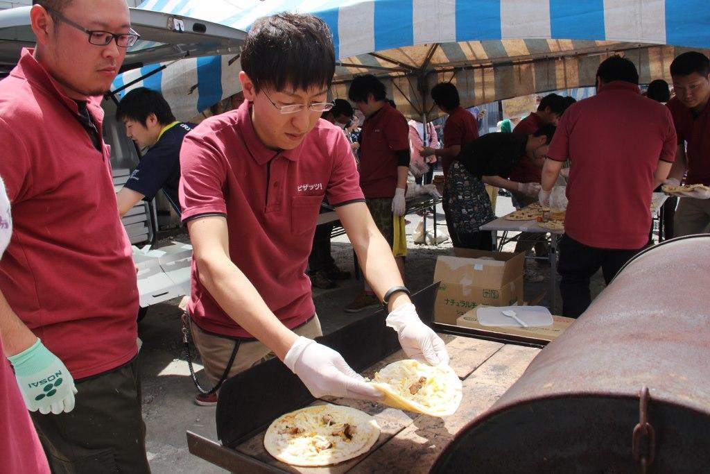 オリジナルピザの饗宴!ピザカーニバル開催!のイメージ